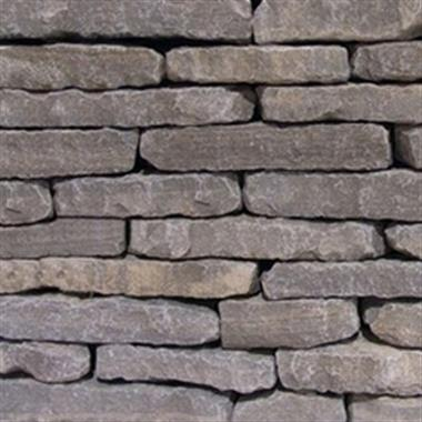Hickory Gray Tumbled Natural Wall