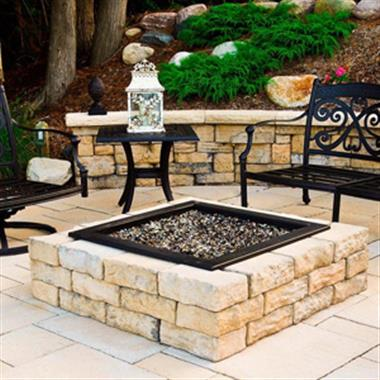 Square Firepit Kit