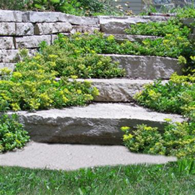 Fond du Lac Outcropping Steps