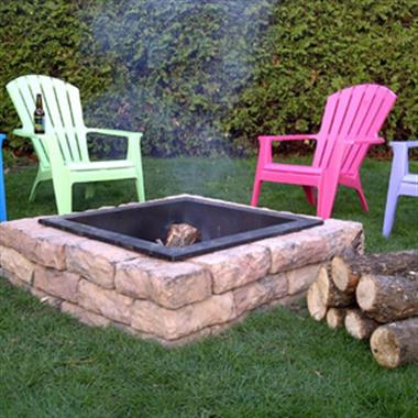 Rosetta Square Firepit Kit